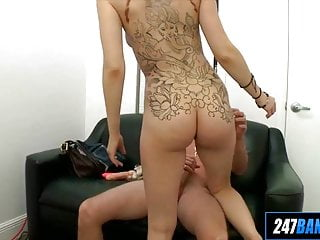 Maxx tits Ginger with tattoos first porn ginger maxx