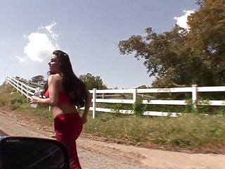 Jogging bouncing tits - Hot brunette bored wife pick up jogging