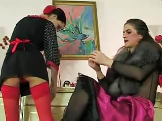 Milf and maid - Mistress and maid