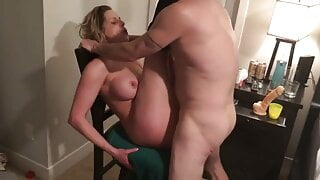 Cuckold husband watches Wife getting fucked