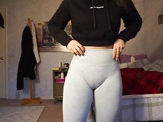 Wet pussy camel toe Fuckable girl cameltoe camel toe pussy tight gym shorts