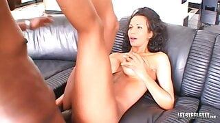 Busty Babe Devin DeRay Takes Lex Steele's Big Black Cock!