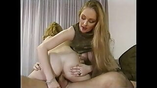 Busty trio with Terry Rubens and Mercedes, upscaled to 4K