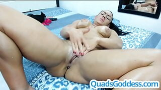 Big Clit Multiple Squirt and REAL Orgasm!