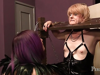 At the bottom how much work was - How much youre nipples can take - mix of nipple torture