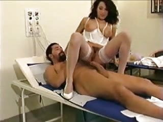 Nurses fucked Stockings anal fuck scene with erika bella in nurse outfit st69