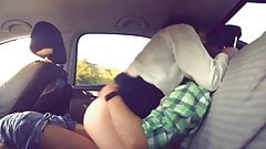 In a car with my ex gf sex - arsivizm