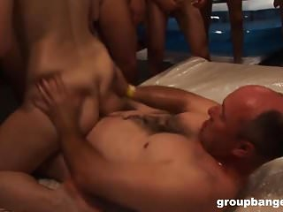 Busty germans group dailymotion - Groupbanged.com busty pierced slut takes multiple cocks