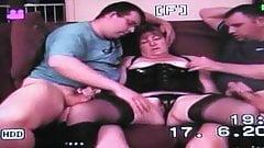 Exposed my slut wife Clare in porno video