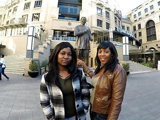 Amateur black lesbian videos Two chubby black lesbian amateur whores