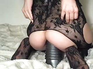 Monsterous dildos - Monster dildo in her ass