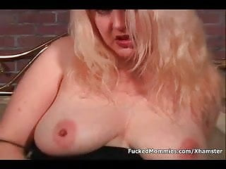 Head in pussy - Busty mom gives head and gets hairy snatch cummed