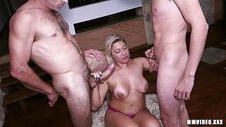 Small dick cuckold is humiliated by biggest cock in porn