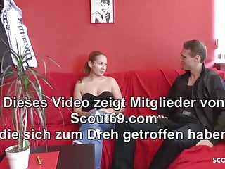 Lost condom porn - German natural teen at no condom porn casting for cash