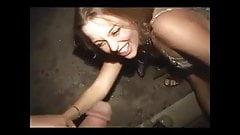 Drunken piss party