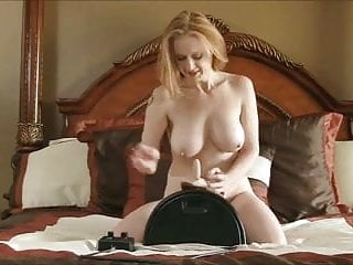 Mature sybian pics Busty mature cums on the sybian