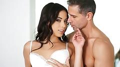 21Naturals Cute Brunette Has Sex During Breakfast