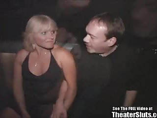 Milf porno videos Blonde anal milf porno theater gangbang fuck fest
