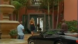 Janine gets destroyed by two big dick black guys
