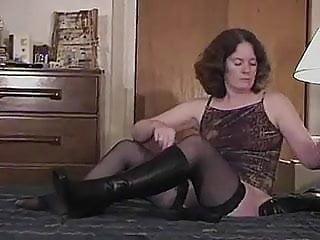 Sexy brazilian in boots Kinky boot job