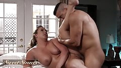 Maddy O'Reilly Releases Her Tension By Riding Big Cock