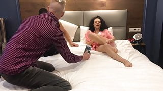 He came to visit and fucked his best friend's wife