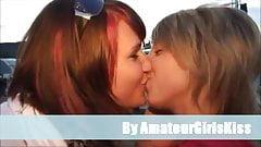 Amateur lesbo kiss collections
