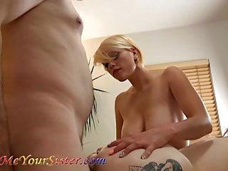 Girlfriend amateur threesome video Girlfriend help me bang a hot tattooed redhead