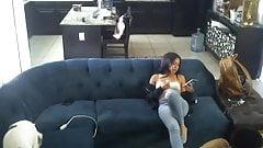Teens auf der Couch, versteckte Kamera Zusammenstellung (lq ns meistens nn lfr)