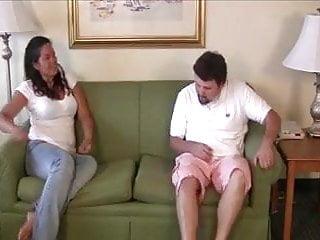 M spank M gets spanked