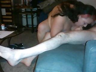 Nate sucks hes dumb - Dumb whore cunt sucks off a skinny white guy