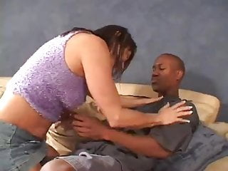 Slutload mature gets black cock Jillian gets her pussy pounded by a black cock