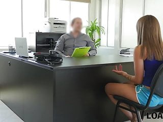 Fashon on dirty sexy money Loan4k. girl needs money so much that is ready for dirty