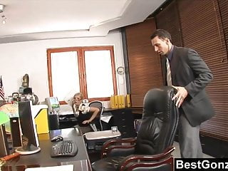 Secretary pussy video Naughty secretary horny at work