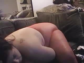 Slope breasts Samantha slopes dildoes on cam