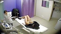 Hidden video, beauty salon, pussy, ass, Tits
