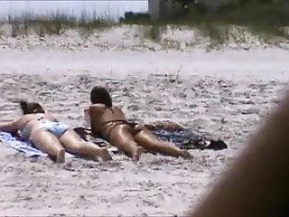 Pantyhose spy shots Candid beach teen ass shot spy 41, 42 double ass