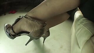 189.  The powerful smell of my stockinged feet.