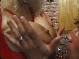 Mature natural index German milf with big natural tits takes it hard in her ass