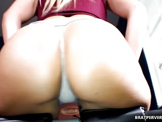 Thick white femdom facesitting dvds - Thick ass babe facesitting session pov
