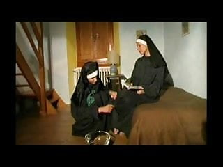 Horny vintage - Lusty horny nuns get off with each other