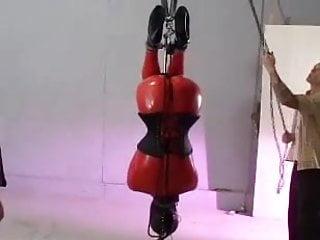 Nudist ballet Scd007 latex corset ballet boots