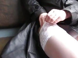 Training keeping it up sex Girl keep and get tickets from stockings in a train