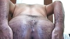 My bubble butts shaved hole