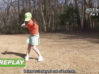 Swinging the clubhead in golf Subtitled hd uncensored japanse golf handjob in pov