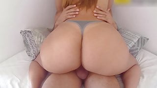 Big Ass Latina Cowgirl In A Sexy Thong