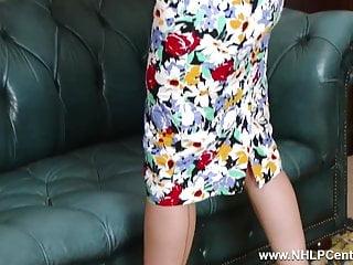 Dry peeling skin on vagina Big tits babe peels off white retro lingerie wanks in nylons