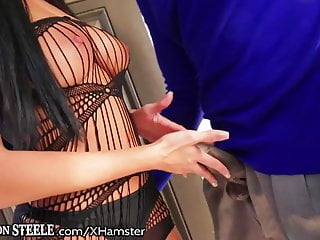 Huge ass lingerie Anissa kate takes huge black dick in ass
