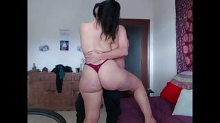 Anal sex in cowgirl position with my stepbrother