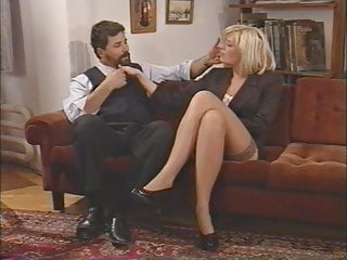 Caprice double penetration tubes Hot italian milf enjoys double penetration by two guys